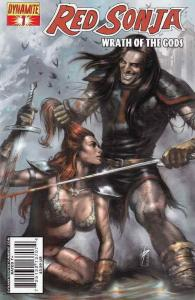 Red Sonja: Wrath of the Gods #1 VF; Dynamite | save on shipping - details inside