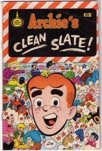 Archie's Clean Slate   #nn (39c) GD