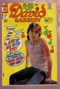 DAVID CASSIDY #4 1972-THE PARTRIDGE FAMILY-DOUBLE COVER VF
