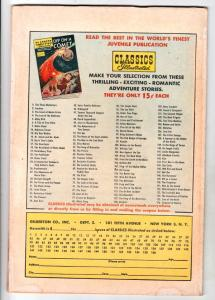 Classics Illustrated #158 (Sep-60) FN+ Mid-High-Grade