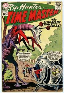 Rip Hunter Time Master 2 Jun 1961 VG (4.0)