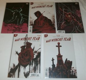 Man Without Fear (2019) #1-5 (complete set) Daredevil MacKay/Landini/Beyruth