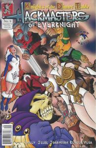 Hackmasters of EverKnight #9 VF/NM; Kenzer and Company | save on shipping - deta