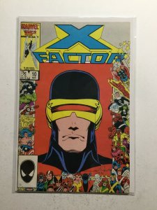 X-Factor 10 Very Fine Vf 8.0 Marvel