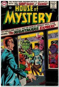 HOUSE OF MYSTERY 155 VG-F  December 1965