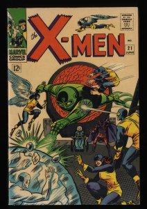 X-Men #21 FN+ 6.5