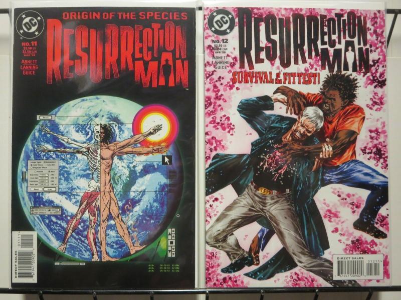 RESURRECTION MAN (1997) 11-12  Origin Of The Species