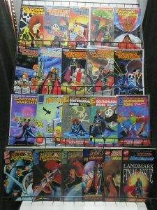 Captain Harlock (Eternity 1988) Lot of 21Diff Based on Mastumoto Anime!