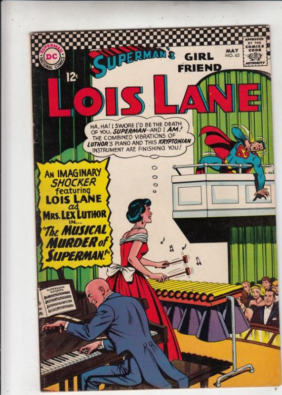 Superman's Girlfriend Lois Lane #65 (May-66) VF/NM+ High-Grade Superman, Lois...