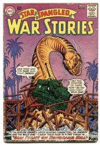 Star Spangled War Stories #119 1965- Dinosaur issue VG