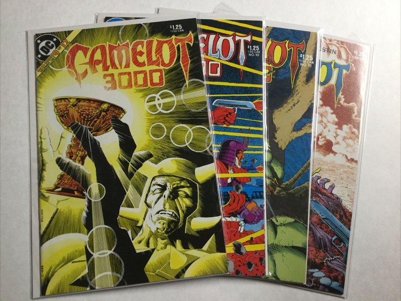 Camelot 3000 1-3 5 8-12 Lot Set Run Nm- Near Mint- 9.2 Dc Comics