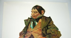 Cousin Eerie poster - 28 x 20 - sanjulian 1973