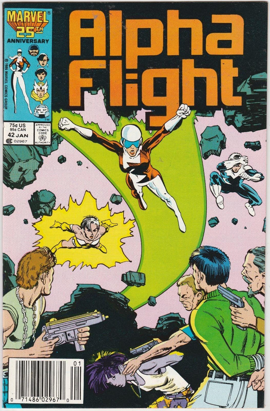 X-MEN ALPHA FLIGHT #7 VOL.1 VF//NM