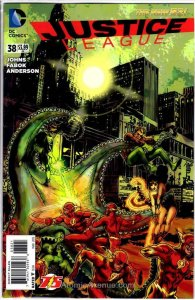 Justice League (2nd Series) #38A VF/NM; DC | save on shipping - details inside
