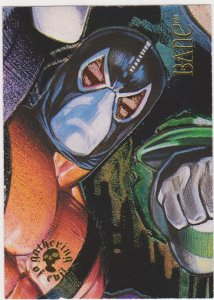 1995 DC Villains Gathering of Evil #GE-6 Bane Card