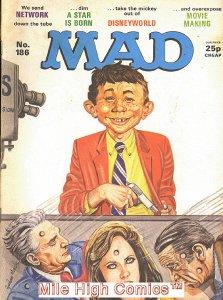 MAD (MAGAZINE) #186 BRITISH Very Good