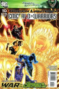 Green Lantern: Emerald Warriors #10, NM (Stock photo)