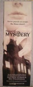HOUSE OF MYSTERY Promo Poster, Vertigo, 2008, Unused, more in our store