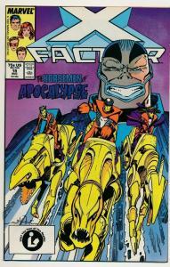 Marvel Comics X-FACTOR #19, 2nd App Apocalypse ~ 1987 VF/NM (PF485)