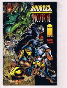 Badrock Wolverine (1996) #1 (1A) ImageMarvel Comic Book Crossover X-Men HH3