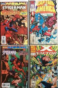 MARVEL ANNUALS SPIDER-MAN/ELEKTRA 1998 CAPTAIN AMERICA #13 1994 X-FACTOR #8 1994