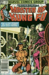 Master of Kung Fu (1974 series) #123, VG+ (Stock photo)