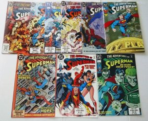 Adventures of Superman Comic Book Lot of 9  (cl#04)