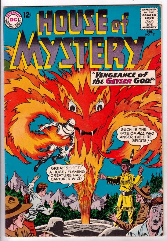 House of Mystery #131 (Feb-63) FN/VF Mid-High-Grade