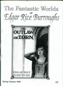 Fantastic Worlds of Edgar Rice Burroughs Fanzine #47- Jungle Tales of Tarzan