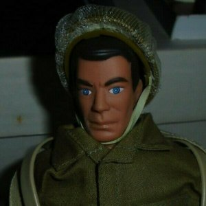 Formative International 12 Military Action Figure dark hair