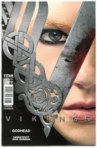 VIKINGS GODHEAD #1 2 3 4, NM, Titan, Ragnar, Rollo, Lagertha, 2016, 1-4 set C