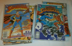 Adventures of Superman #424-451 100% complete Wolfman/Ordway/Byrne set of 29