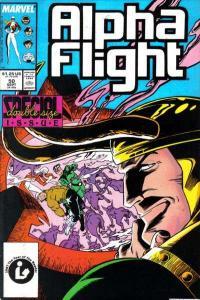 Alpha Flight (1983 series) #50, VF (Stock photo)