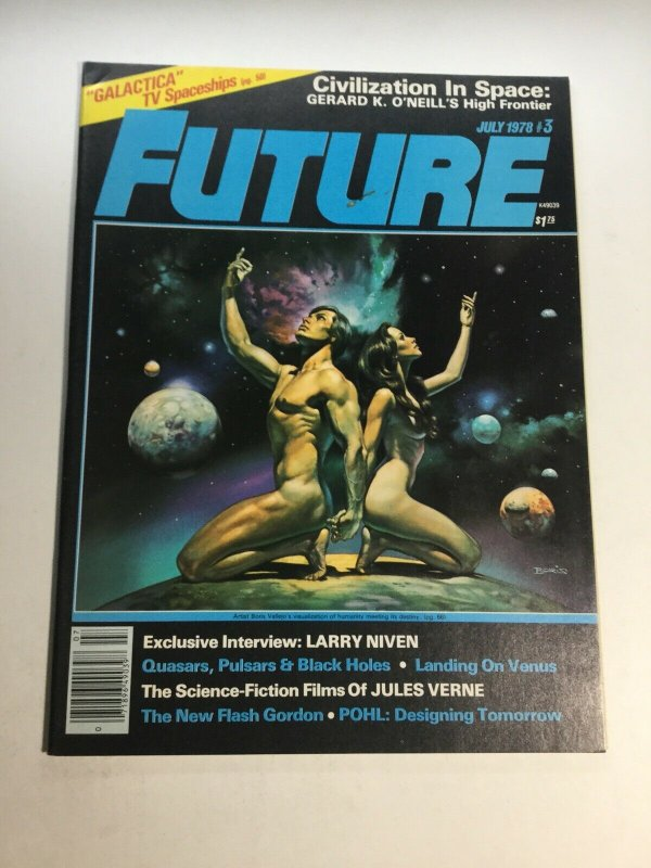 Future 3 July 1978 Vf Very Fine 8.0 Magazine