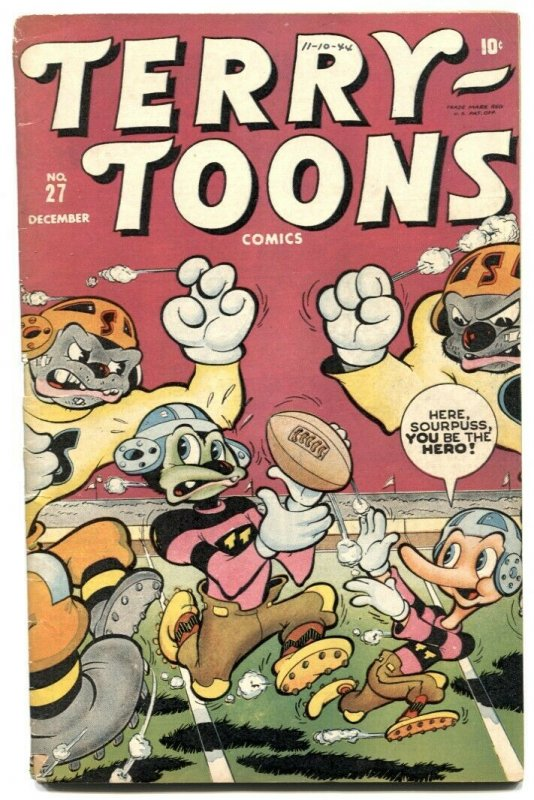 Terry-Toons #27 1944- Timely Funny Animals- VG