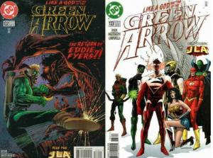 GREEN ARROW (1988) 132-133  Like A God COMICS BOOK