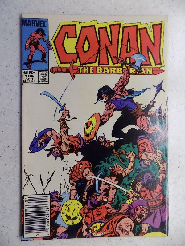 CONAN THE BARBARIAN # 169 MARVEL SAVAGE SWORD FANTASY