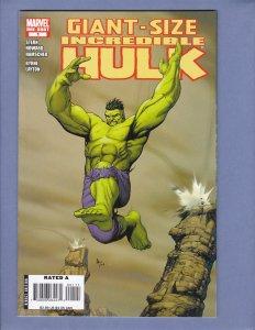 Giant-Size Incredible Hulk #1 VF Marvel 2008