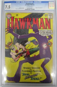 Hawkman #5 CGC 7.5 VF- DC Comics 1964 ~ 1965 Gardner Fox Shadow Thief