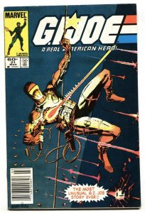 G.I. Joe Real American Hero #21 1984 Newsstand-1st Storm Shadow-color touch