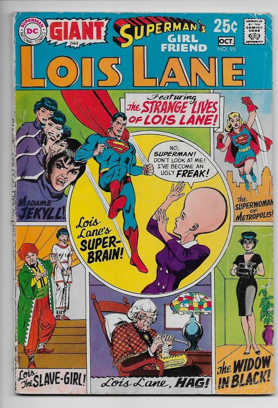 Superman's Girlfriend Lois Lane #95 - Giant Size (DC, 1969) - VG