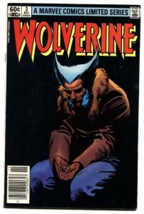 WOLVERINE LIMITED SERIES #3-Marvel 1982 comic book