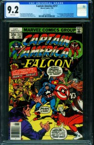 CAPTAIN AMERICA #217 CGC 9.2 1978 1st MARVEL MAN 2041560009