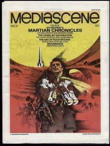 STERANKO MEDIASCENE 36 1979 Martian Chronicles, Bester