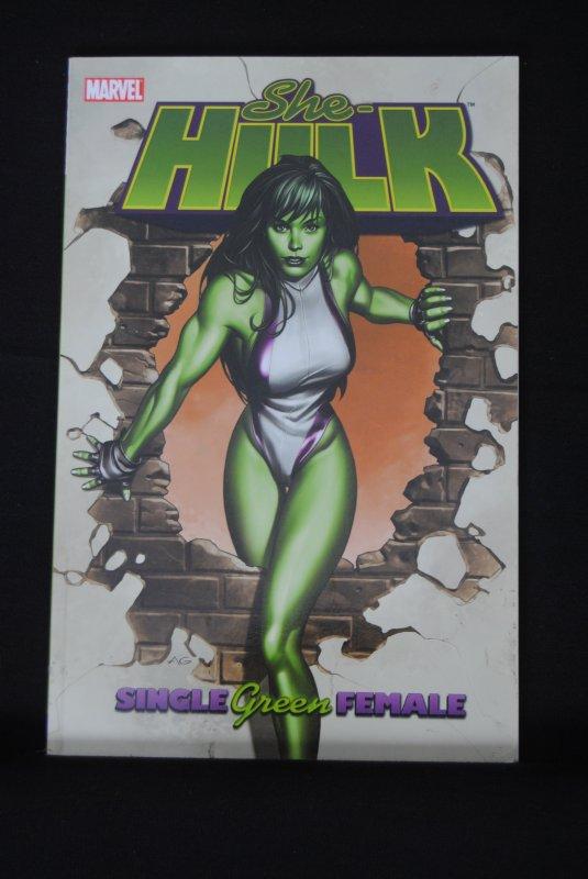 She Hulk, Single Green Female TPB