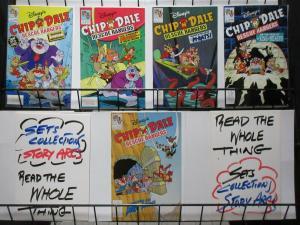 DISNEY'S CHIP 'N' DALE: RESCUE RANGERS (Disney,1990) #1-5 Scott Saavedra VF-NM