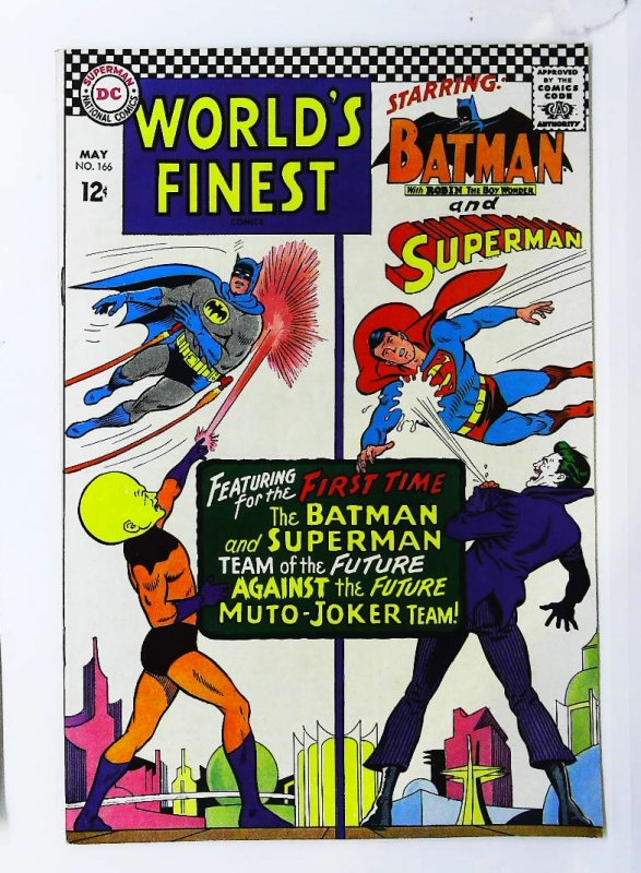 World's Finest Comics #166, VF- (Actual scan)