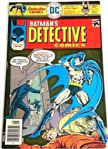 DETECTIVE COMICS#459 VG 1976 DC BRONZE AGE COMICS