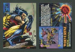 1994 Fleer Marvel Universe  Wolverine #124  NM-MT+