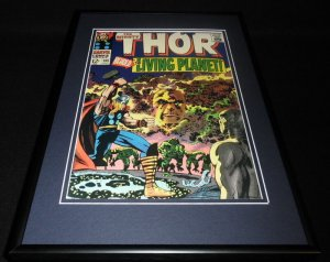 Thor #133 Framed 12x18 Cover Photo Poster Display Official Repro Living Planet